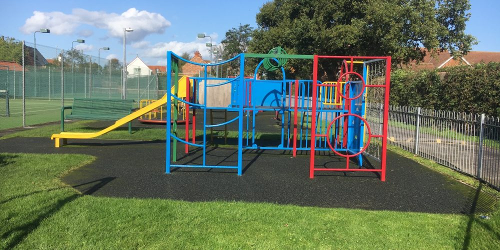 Good photo of playground at BLC