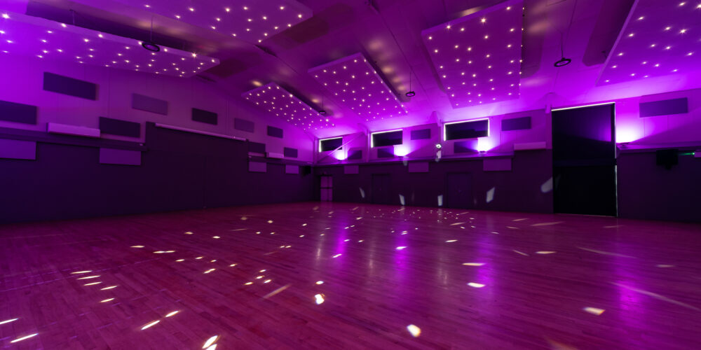 202007 Hall with pink lights